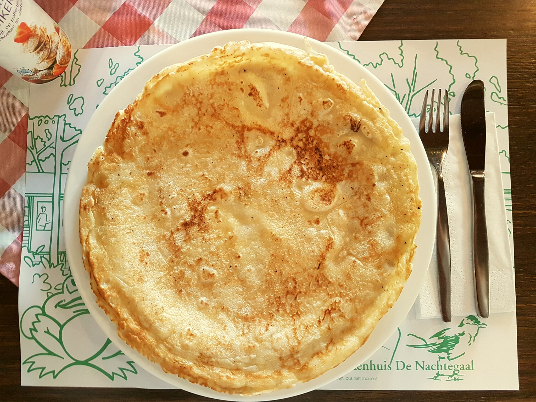 Pannenkoek naturel
